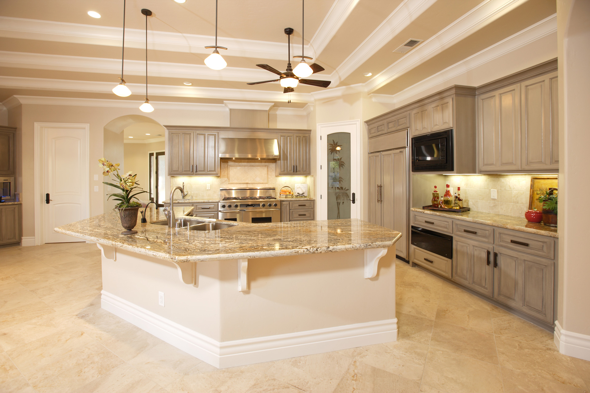 Kitchen Floor And Wall Trends 2018-CabinetCorp