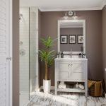 """30"""" Piedmont Dusk Furniture Vanity w/ Mirror"""