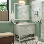 """42"""" Piedmont Dusk Furniture Vanity w/ Mirror"""