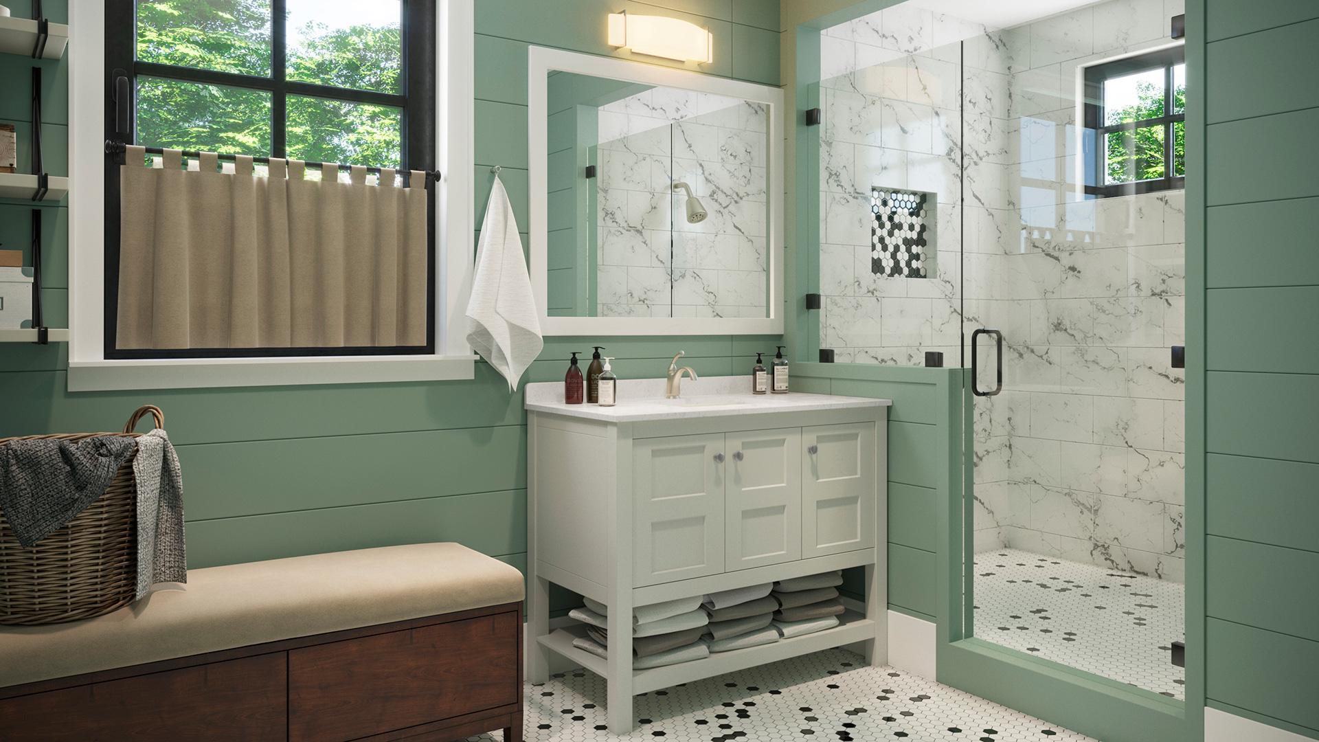 Furniture Vanity Piedmont Dove Set 42