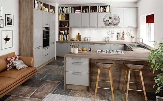 G-Shape Kitchen Apartment Therapy