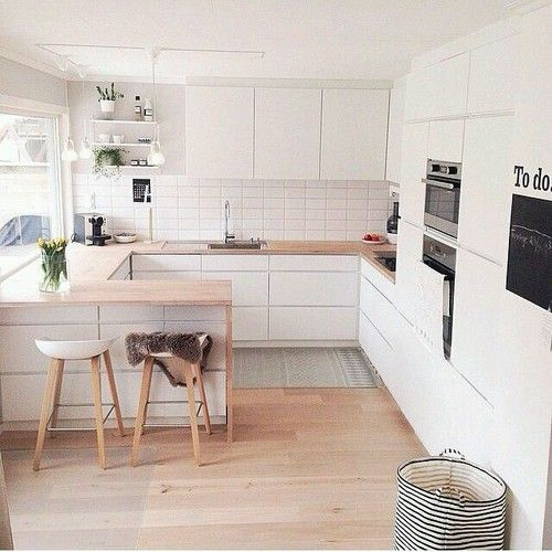 G-Shape Kitchen Dream House Inspiration