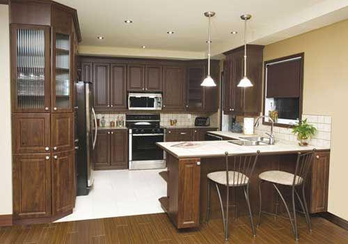 G-Shape Kitchen Home Decor H
