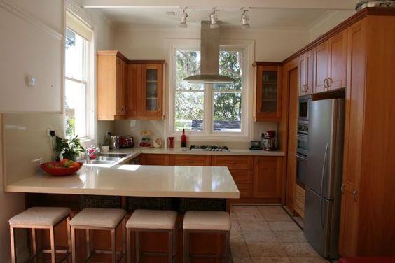 G-Shape Kitchen Home Decor Ideas
