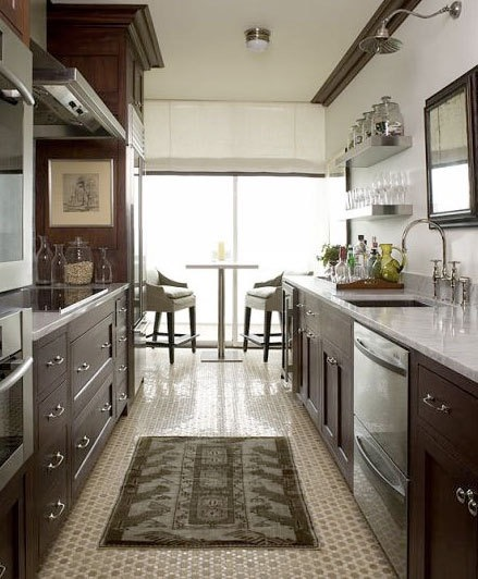 Galley Kitchen Apartment Therapy