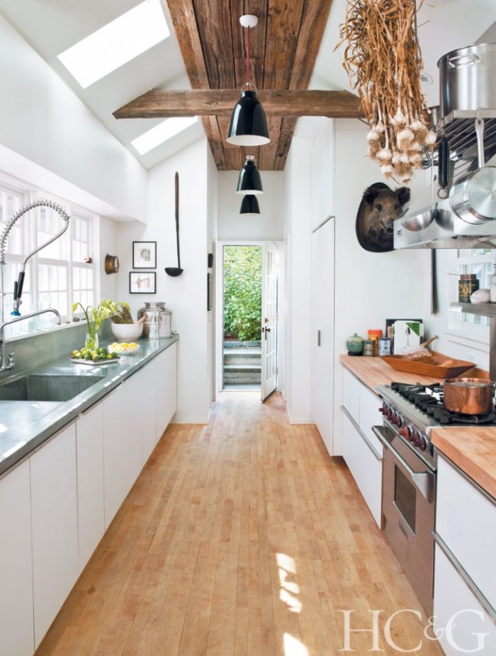 Galley Kitchen Cottages and Gardens
