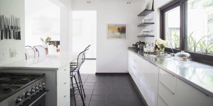 Galley Kitchen Elle Decor