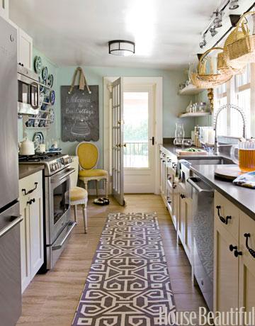 Galley Kitchen House Beautiful