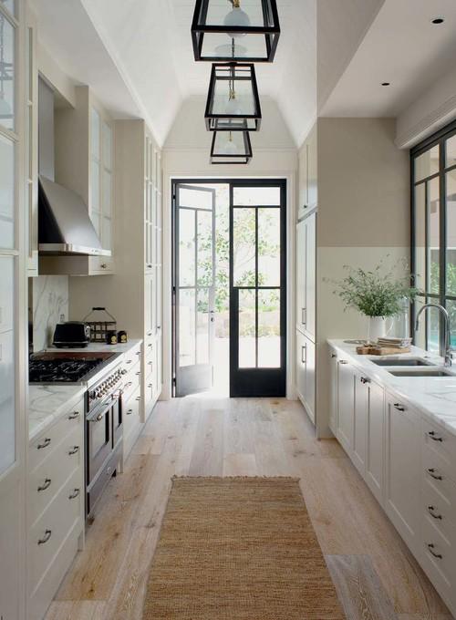 Galley Kitchen Interiors, yum!