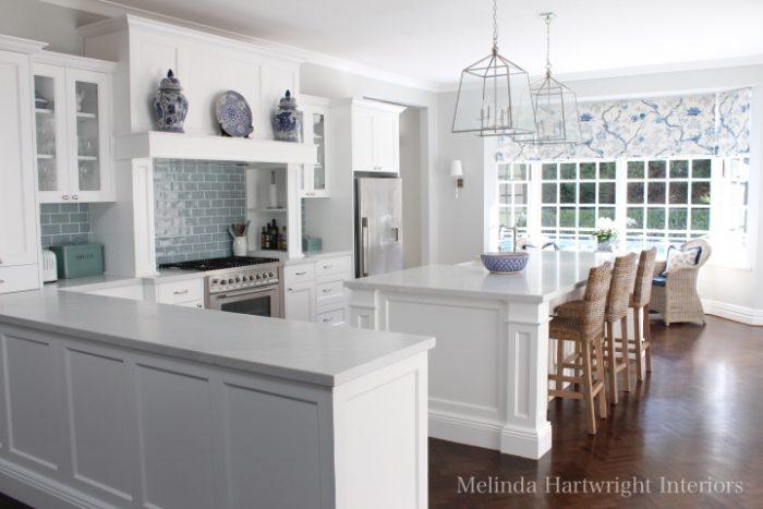 L Shaped Kitchen Cape Cod Colligiate
