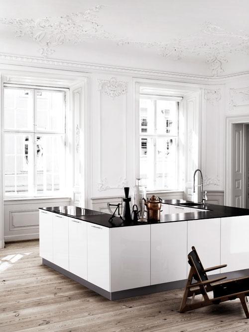 L Shaped Kitchen Nordic Design