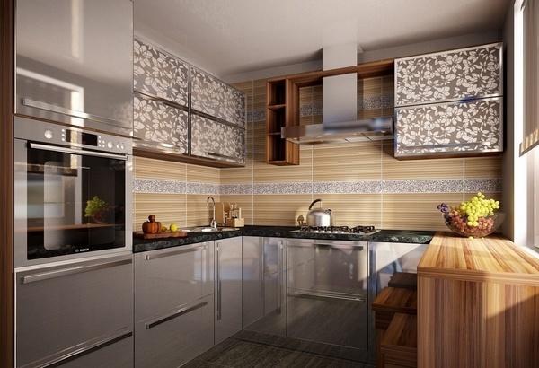U Shaped Kitchen De Avita