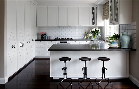U-Shaped Kitchen Horton & Co Design
