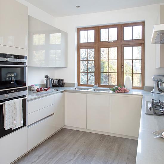U Shaped Kitchen Ideal Home