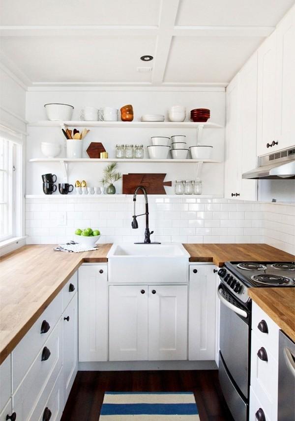U Shaped Kitchen Minimalista