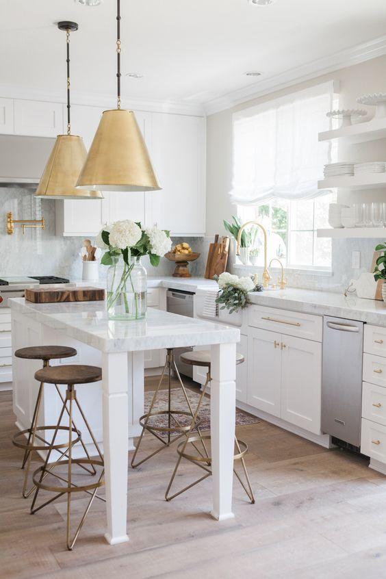 U Shaped Kitchen Nicole Pad Interiors