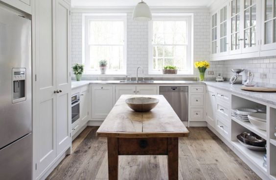 U Shaped Kitchen Elle Decor