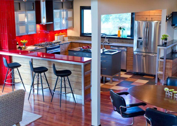 U Shaped Kitchen Warehouse 414